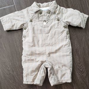 Janie and Jack Layette penguin 0-3 months